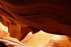 Modelos coloridos del antílope de la piedra arenisca de Navajo Imagen de archivo