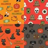 Modelos de Halloween Fotografía de archivo libre de regalías