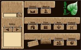 Modelos de la navegación del Web Fotos de archivo
