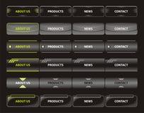 Modelos de la navegación del Web Imágenes de archivo libres de regalías