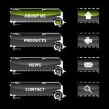 Modelos de la navegación del Web Libre Illustration