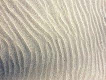 Modelos de la ondulación de la arena Imagen de archivo