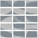 Modelos de la tarjeta de visita Fotos de archivo