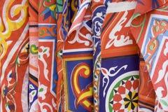 Modelos de la tela de Arabia - de Ramadan Fotografía de archivo