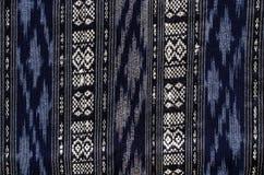 Modelos de la tela hecha a mano tejidos en el norte de Tailandia Fotografía de archivo