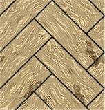 Modelos de madera del vector inconsútil Foto de archivo