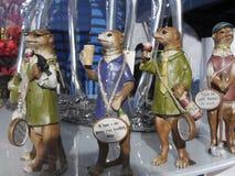 Modelos de Meercat em Burnley Lancashire Fotos de Stock