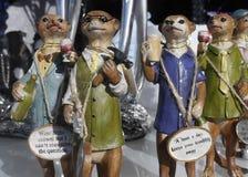 Modelos de Merecat em Burnley Lancashire Imagem de Stock
