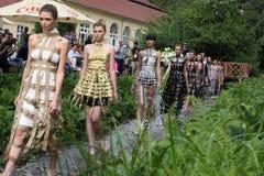 Modelos de moda Fotografía de archivo