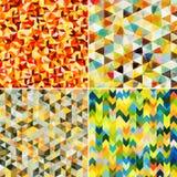 Modelos de mosaico abstractos Foto de archivo libre de regalías