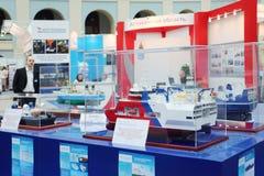 Modelos de nave para la exploración geológica Imágenes de archivo libres de regalías