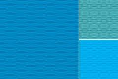 Modelos de ondas fijados libre illustration