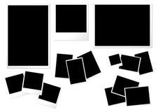 Modelos de papel de la foto Imagen de archivo