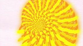 Modelos de puntos coloridos de la flor del caleidoscopio con textura del papel de la acuarela Gráficos multicolores abstractos de libre illustration