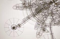 Modelos del alambre Imagenes de archivo