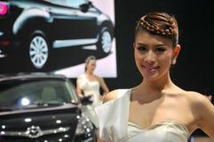 Modelos del Car Show Foto de archivo
