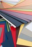 Modelos del color del papel Fotografía de archivo libre de regalías