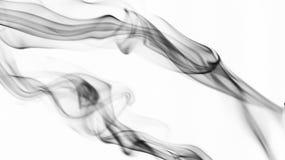 Modelos del humo en blanco stock de ilustración
