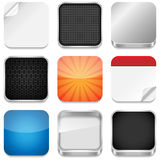 Modelos del icono del App Imagenes de archivo