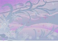 Modelos del invierno stock de ilustración