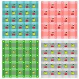 Modelos del remiendo Imagen de archivo libre de regalías