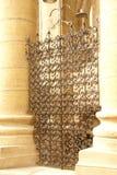 Modelos detallados de la puerta del hierro Fotos de archivo libres de regalías