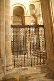 Modelos detallados de la puerta del hierro Fotografía de archivo libre de regalías
