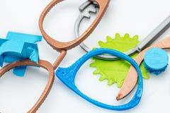 Modelos e protótipos plásticos Fotos de Stock