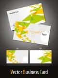 Modelos elegantes de las tarjetas de visita del tema Imágenes de archivo libres de regalías