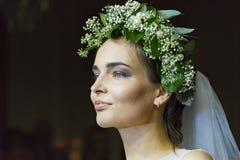 Modelos en el desfile de moda ucraniano Imágenes de archivo libres de regalías
