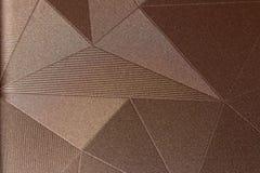 modelos en el estilo de triángulos Imagen de archivo