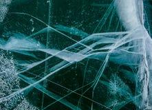 Modelos en el hielo Fotos de archivo libres de regalías