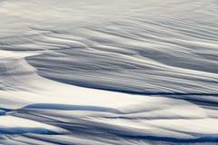 Modelos en la nieve Foto de archivo
