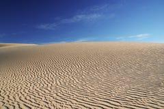 Modelos en las dunas Imagen de archivo libre de regalías