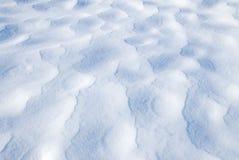 Modelos en superficie de la nieve fotografía de archivo