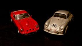 Modelos fundidos a troquel coche clásico Fotografía de archivo