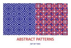 Modelos geométricos abstractos Fotografía de archivo libre de regalías