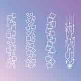 Modelos geométricos de Minimalistic Fotografía de archivo libre de regalías
