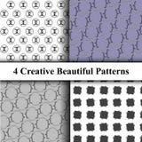 Modelos geométricos del ornamento fijados Libre Illustration