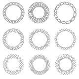 Modelos geométricos determinados Fotografía de archivo libre de regalías