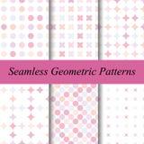 Modelos geométricos inconsútiles Imágenes de archivo libres de regalías
