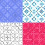 Modelos geométricos inconsútiles del color del vector imagen de archivo