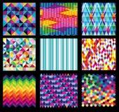 Modelos inconsútiles abstractos Fotografía de archivo libre de regalías