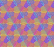 Modelos inconsútiles de la flor colorida de Abstrac Imagenes de archivo