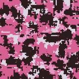 Modelos inconsútiles del camuflaje de Digitaces ilustración del vector