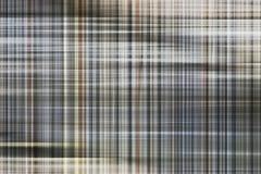 Modelos marrones abstractos de la tela escocesa Fotografía de archivo libre de regalías