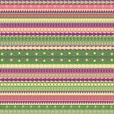 Modelos multicolores geométricos Stock de ilustración