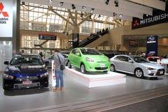 Modelos novos de Mitsubishi Imagens de Stock Royalty Free