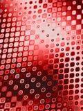 Modelos retros - círculos rojos Imágenes de archivo libres de regalías