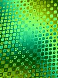 Modelos retros - círculos verdes Fotos de archivo